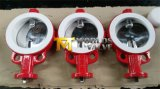 Wafer Butterfly Valve with Di Body CF8m Polished Disc PTFE Seat Free Shaft