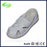 White PVC ESD Leather Shoes (EGS-PVC-603)