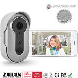 Zuden HD Silver Wireless WiFi Video Doorbell for Home Security