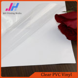 Removable Glossy Clear PVC Adhesive Vinyl