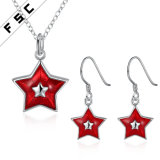 Wholesale Star Jewelry Set for Christmas as a Gift
