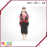 Girls Children Party Pirate Cosplay Suit Costume