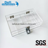 Acrylic Transparent Tool Box with Lock