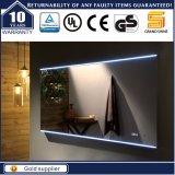 Decorative Dressing LED Silver Aluminium Mirror, Bathroom Light Mirrors