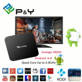 P&Y Smart TV Box Tx3 PRO with WiFi+Bluetooth Kodi