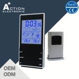 Big Screen Digital Weather Station Clock with Wireless Remote Sensor