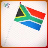 Custom 100% Polyester Hand Flag Digital Printing (HYHF-AF068)