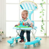 New Infant Baby Walker with 8 PU Wheels for Sale