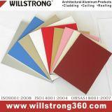 PE/PVDF Partition Material Aluminum Composite Pael