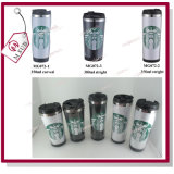 16oz Stainless Steel Insert Paper Travel Cup Starbucks Coffee Tumbler