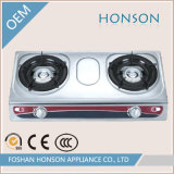 Wholesale Fashion Table Top 2 Burner Stainless Steel Gas Stove