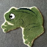 Eco-Friendly High Quality Bath Accessories Frog Kid Play Funny Mat