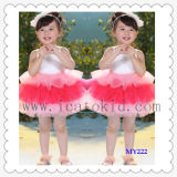 Tutu Dress Children Clothing Tulle Dress Baptism Dress for Ballerina Skirt