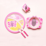 Dinnerware Bamboo Fiber Kids Tableware Set