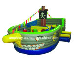 Popular Pirate Ship House Inflatable Bouncer