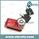Small Alarm Bicycle Disc Key System Lock