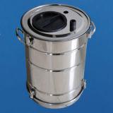 Stainless Powder Hopper for Electrostatic Powder Coating Gun System Use