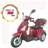 New Design 500W 3 Wheel Disabled Scooter Trike, Electric Adult Tricycle with Comfortable Seat (TC-020)
