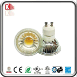 Dimmable 110V Glass Body COB GU10 LED 5W Spotlight