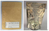 Kraft Paper Stand up Pouch (Paper Front+Clear Back)