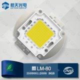 Super Brightness Lighting Decay Less Than 3% 5000-5500k CCT High Power 90W COB LED Chip