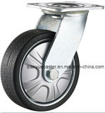 Heavy Duty Gray Polyurethane Flame Swivel Caster Wheel