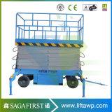 Top Quality 4m -18m Hydraulic Trailing Mobile Scissor / Hydraulic Scissor Lift