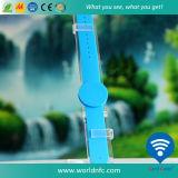 13.56MHz Ntag213 Waterproof Newest Fashion RFID Silicone Watch Bracelet