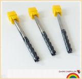 Solid Carbide HRC45 Long Flutes Carbide Milling Machine Tool