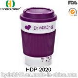 Hot Sales BPA Free Double Wall Plastic Coffee Mug (HDP-2020)