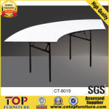 Modern Semi-Circular Laminate Banquet Folding Table