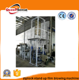 Custom Printed Plastic Stand up Transparent Cosmetic Ziplock Bag Machine