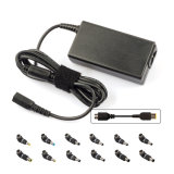 Universal 65W AC DC Adapter, 14pins with LED Supply Charger