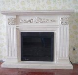 Luxury Carving Marble Fireplace Mantels for Home Decoration