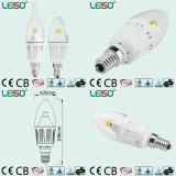 Patent 4W CREE Chip E14 Scob LED Candle Lamp (LS-B304-CWWD/CWD)