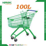 100L Powder Retail Store Coated Shopping Cart Trolley