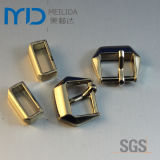 Gold Shinning Zinc Alloy Pin Buckles for Shoes Garment and Bags