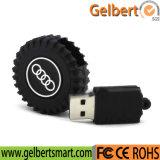 Wholesale Wheel Shape PVC Tyre Shape USB Memory Stick