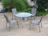 Patio Restaurant Dining Garden Furniture Set Outdoor Table and Chair