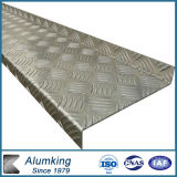 Pre-Cutted Chequer Aluminium Plate for Building Decoration