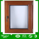 Wooden Printed PVC Awning Window