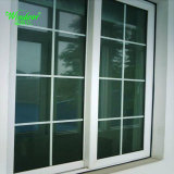 Doule Leaves Open Outside UPVC Casement Window with Grills
