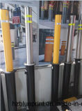 Retractable Bollard for Road Safety, Manual Retractable Flexible Bollard, Traffic Bollard