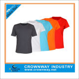 Polyester Moisture Wicking Dry Fit Running Shirt for Men