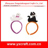 Halloween Decoration (ZY11S356-4-5) Halloween Headband Party Decoration Halloween Black Cat Ghost Craft
