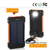 Three Proofing Solar Mobile Power Supply with LED Lights 5000-20000mAh