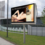 Single Side Scrolling Advertising Outdoor Light Box Frame