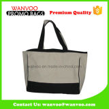 Stitching Reusable 100% Cotton Eco-Friendly Garment Lady Tote Bag