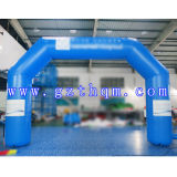 0.6mm Thickness PVC Tarpaulin Start and Finish Inflatable Arch for Exhibition/Inflatable Arch Door