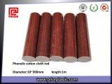 Phenolic Laminated Textolite Rod in Brown